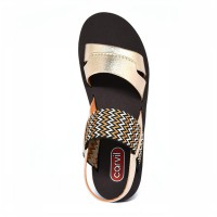 CARVIL SANDAL CASUAL LADIES ALICA-L ROSE GOLD