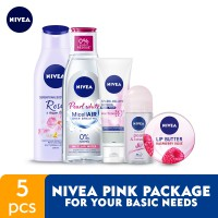 NIVEA Pink Package for Your Basic Needs