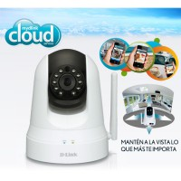 D-Link Pan & Tilt Day/Night Network Camera [Dcs-5020l]With Wifi Extender (China mobile Bundling)