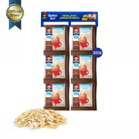 Quaker 3 in 1 Chocolate Renceng - 20 Sachets [Pouch]