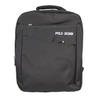 Polo Design Small Backpack 9056-06 Black