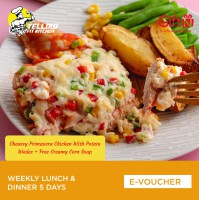 Yellow Fit Kitchen Weekly Lunch & Dinner 5 Days