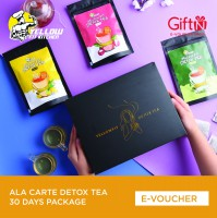 Yellow Fit Kitchen Ala Carte Detox Tea 30 Days Package
