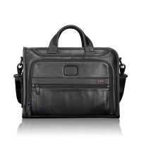 TUMI 96110D2 Slim Deluxe Leather Portfolio Black/Laptop bag