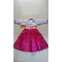 Baju Hanbok - korea : GIRL soft purple fanta