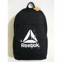 Backpack Reebok CrossFit Motion ID BP811A Black White Original ADA TEMPAT LAPTOP