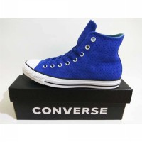 Sepatu Converse CT As Hi 161438C Blue ShorelineBlue White Original