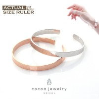Cocoa Jewelry Rules of Love Couple Bracelet Silver Color dan Rose Gold