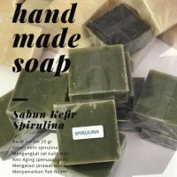 Homemade Soap 100% Natural - Sabun Kefir Spirulina 25g