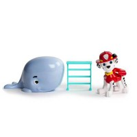 PPW128 Paw Patrol Marshall & Baby Whale Rescue Set Original Item