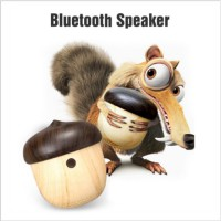 Tiny Speaker Portable Stylish Creative Mini Wireless Bluetooth Nut