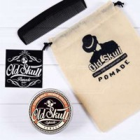 Old Skull/Oldskull Strong Hold Oilbased Pomade - Coffee Latte - 3.8Oz