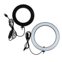 LED Ring Light 13 Inch Stand 3 Color Dimmable For Selfie Vlogging Bonus Tripod Stand