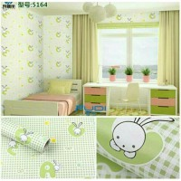 Wallpaper Sticker 10m Motif Huruf
