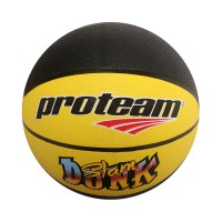Proteam Bola Basket Rubber Slam Dunk