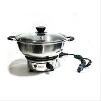 18CM - COOKING POT / ALAT MASAK PANCI KOMPOR LISTRIK / ELECTRIC / ELEKTRIK MODEL LEPAS GOOD QUALITY