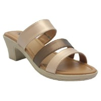 Dr. Kevin Sendal Wedges Women Sandals 561-004 - (2 Color Options) Gold/Silver, Salem/Coklat