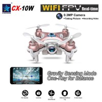 2016 Cheerson Cx-10 W Cx-10w Gyro Wifi Fpv 0,3mp Camera Mini Drone