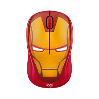Logitech M238 Mouse Wireless Marvel Collection Iron Man