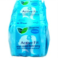 Laurier Pantyliners Active Fit Non Perfume 20S