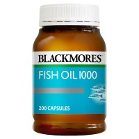 Blackmores Fish Oil 1000mg 400 Caps (Exp September 2021)