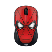 Logitech M238 Mouse Wireless Marvel Collection Spider-man