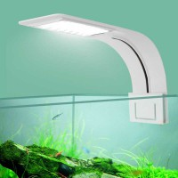 Lampu Aquarium LED Light Super Slim Clip On 10W - X5
