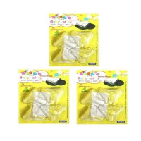 BabyTalk 3in1 Pack - Table Corner Protector Transparant 3 Side Protection - Pengaman Sudut Lancip Meja