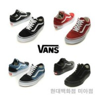 [Vans] Old skool sneakers / black / red / navy / all black / vn-0d3hy28