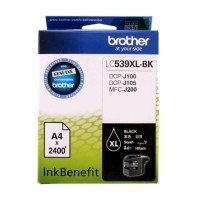 Cartridge Brother LC539 XL Black