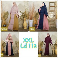 Dress Muslim Gamis Syari Jumbo XXL Vano as