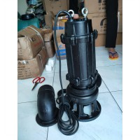 pompa celup  pompa kolam submersible 4inch sewage pump