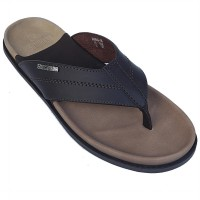 Neckermann Sandal Pria Kansas 101 Dark Brown
