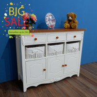 RAMADHAN SALE - LEMARI LILY 9 DRAWERS HONEY
