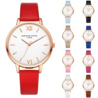 Jam Tangan Wanita Fashion Fantastic Style LVPAI watch Simple Luxury Design