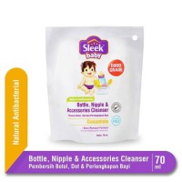 Sleek Bottle, Nipple, and Baby Accessories Cleanser Refill 70 ml