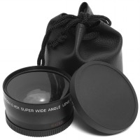 Wide Angle Lens 58mm 0.45x With Macro For Canon Eos 650d 50d 40d 400d 450d 550d-LF037