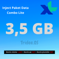 XL Inject Paket Data Combo Lite 3,5 GB