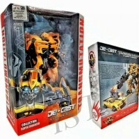 Mainan Diecast Robot Transformer Bumble bee