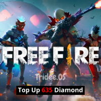 Free Fire FreeFire TopUp Top Up 635 Diamond