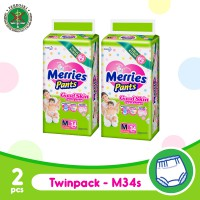 MERRIES Pants Good Skin M 34s - 2 pcs