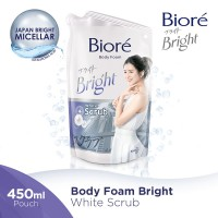 BIORE Body Foam White Scrub 450ml