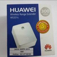 Wifi Repeater/ Penguat Wifi/ Wifi Extender Huawei WS331c 300Mbps