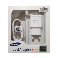 Charger Samsung Original Type C Adaptive Fast Charging Charger for Galaxy A5 2017 / A7 2017 / S8