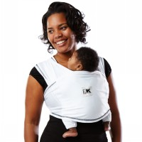 Baby K'Tan Baby Carrier Active | White