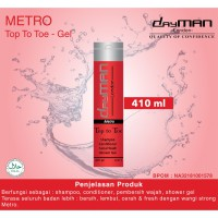Dayman Top to Toe Metro 410 ml