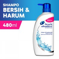 Head & Shoulder Sampo Clean and Balanced 480 ml