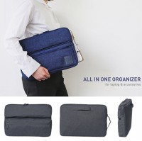 Korean All-In-One Organizer for laptop and accessories / Tas Laptop