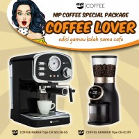 MP Coffee Special Package Coffee Lover - CM 5013B-GS & CG-01 RY