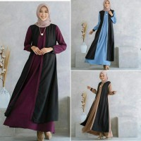 Dress Muslim Gamis Modis Nadime hd2